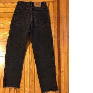 Black Wash Vintage Levi's